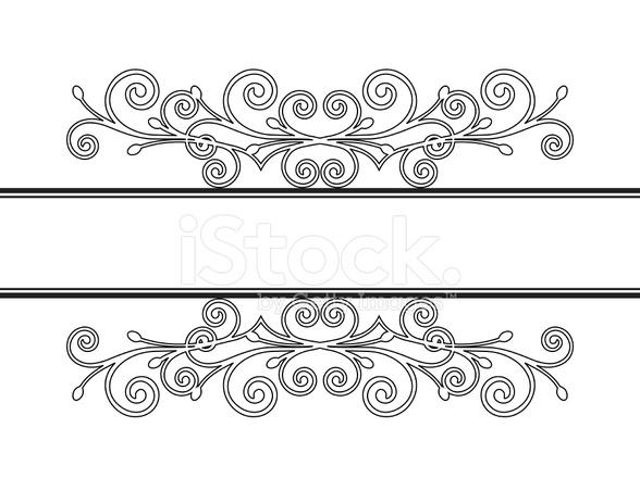 复古框架的装饰。矢量图 Stock Vector Freeimages Com