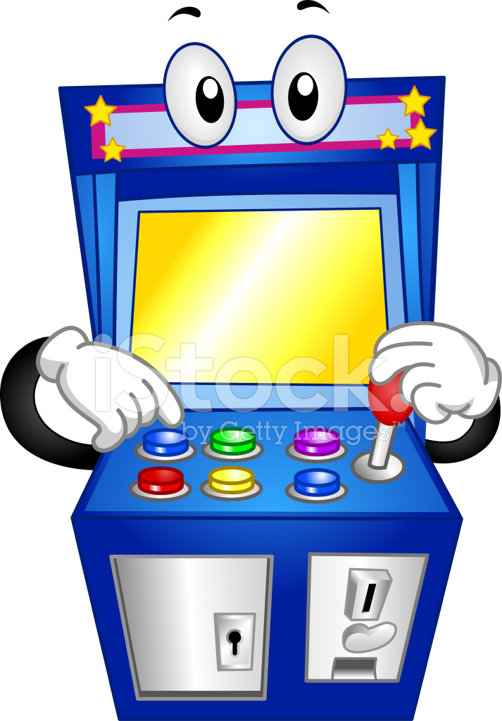 arcade machine clipart