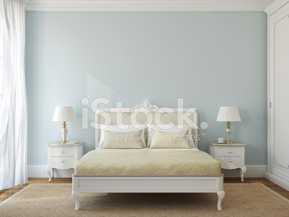 Klassische Schlafzimmer Inneren.