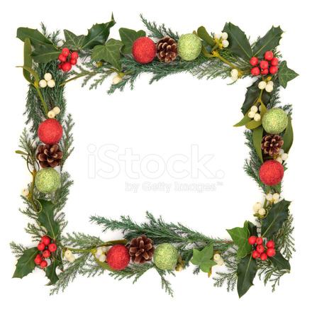 Cenefa DE Navidad fotografías de stock