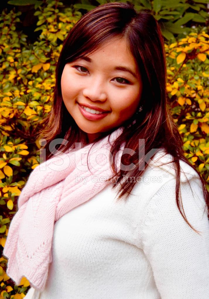 asian american college girl