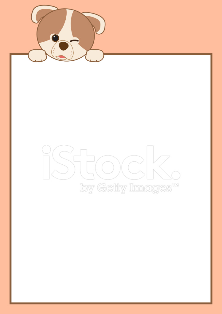 Cartoon Frame Border Stock Vector