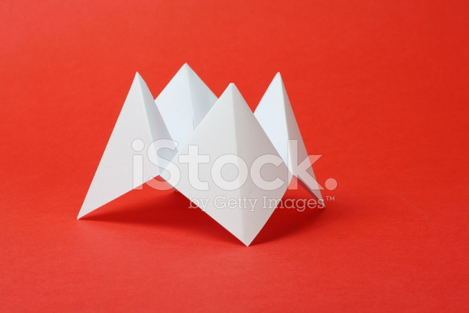 Origami Fortune Teller Stock Photos Freeimages