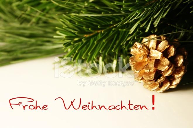 Frohe Weihnachten Merry Christmas IN