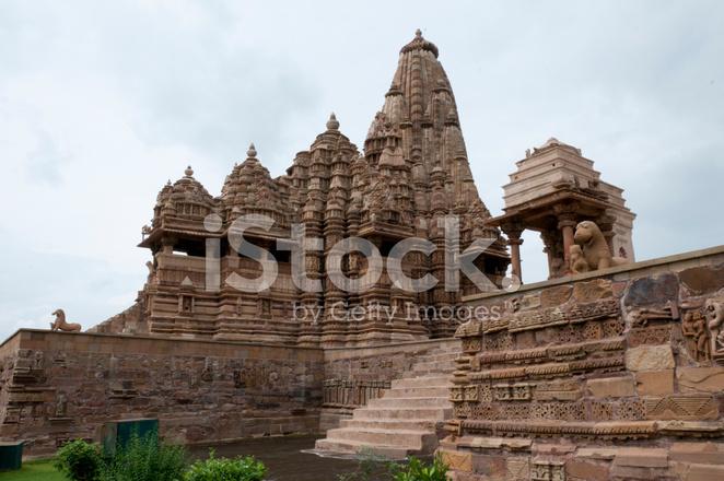 Hindu Erotic Temple In Khajuraho, India Stock Photos - Freeimagescom-9230