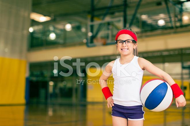 6067254cd6e Little Girl Basketball Player Stock Photos - FreeImages.com