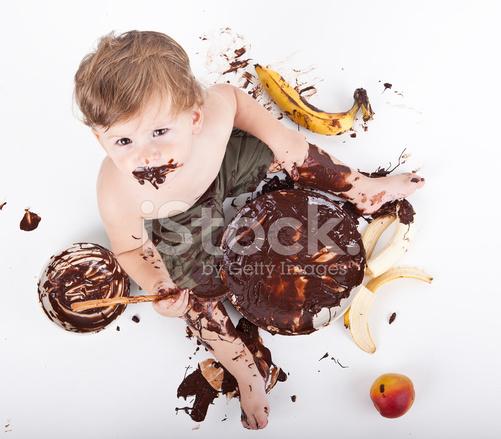 Kleine Baby Kuchen Essen Stockfotos Freeimages Com