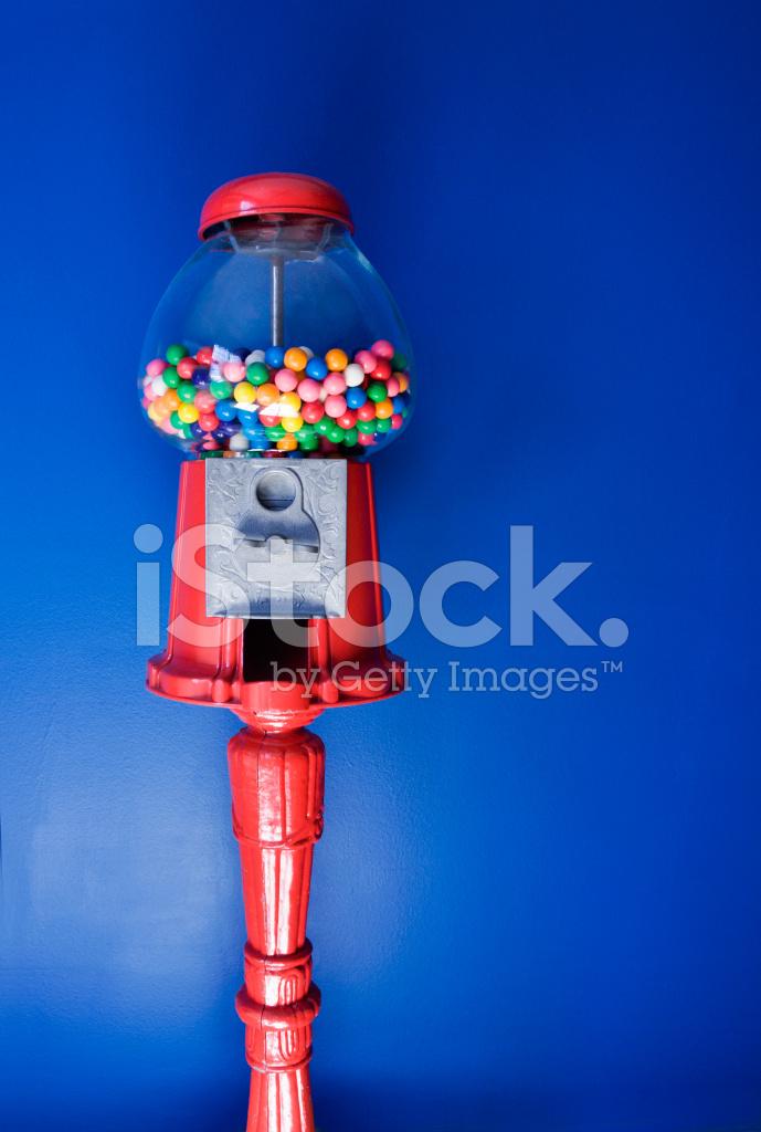 retro gumball machine