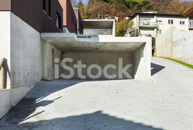 Premium Stock Photo Of Schöne Moderne Häuser, Garage