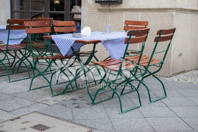 Chairs Berlin cafe terrace table and chairs berlin stock photos freeimages com