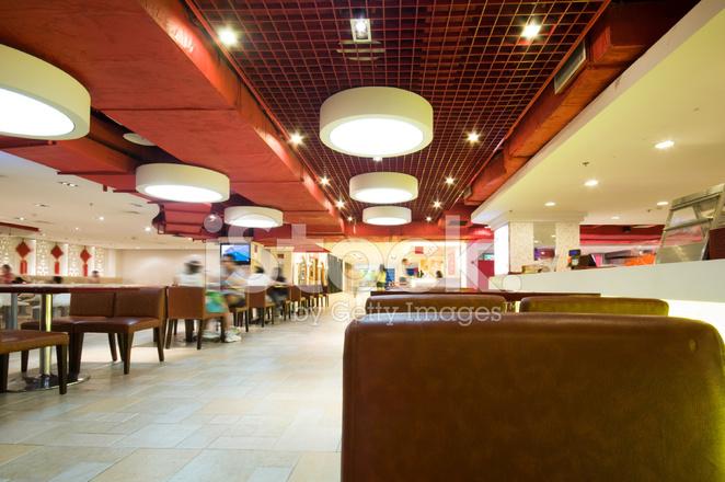 Keuken Modern Open : Modern restaurant met open keuken stockfoto s freeimages