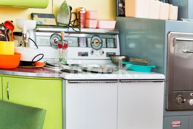 Ältere Küche Im 50er Jahre Stil Stockfotos - FreeImages.com