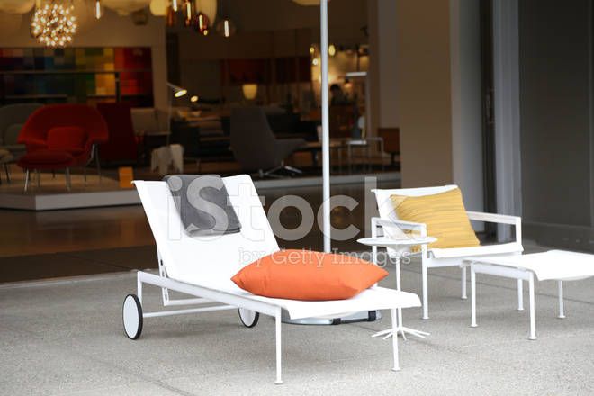 Modern Lounge Utemobler Stockfoton Freeimages Com