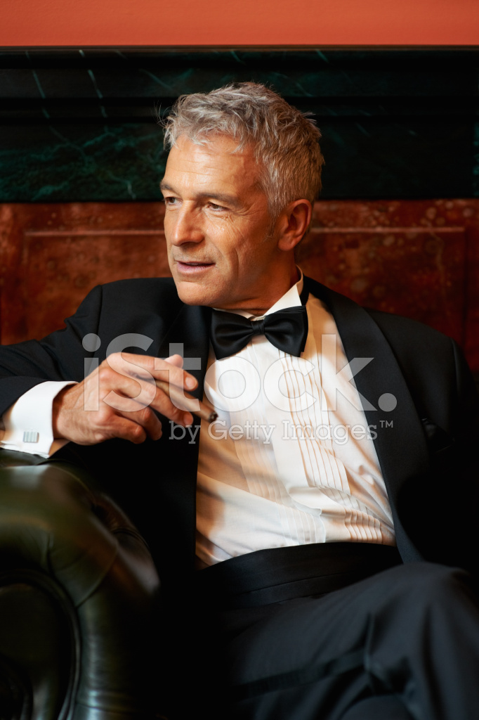 Classy Gentleman Cigar Stock Photos Freeimages Com