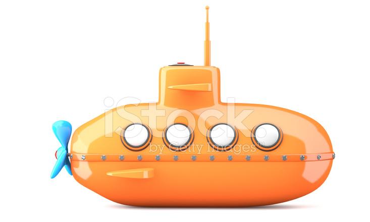 Sous marin style dessin anim photos - Dessin sous marin ...
