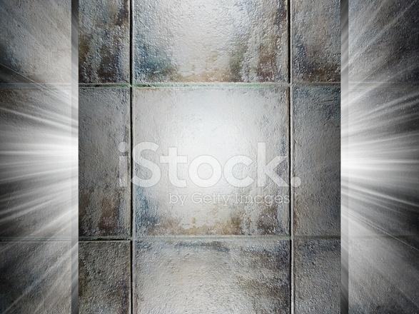 Presentazione 3d di texture piastrelle in ceramica fotografie stock