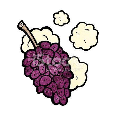 uvas de desenhos animados stock vector freeimages com