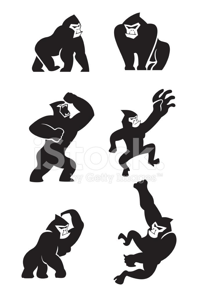 gorilla icons stock photos   freeimages