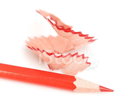 Как сделать красный карандаш 255