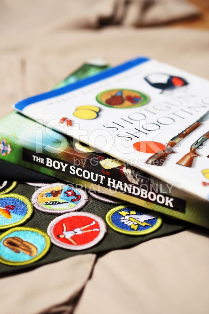 Boy Scout Handbook Shotgun Shooting Merit Badge Book With