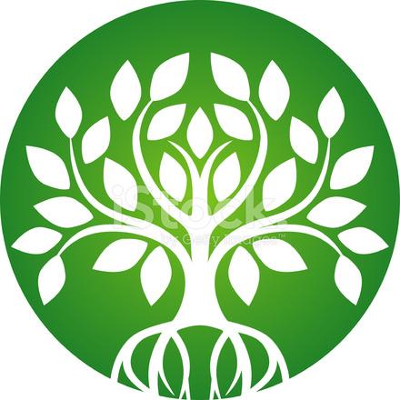 Green Tree Icon Stock Vector