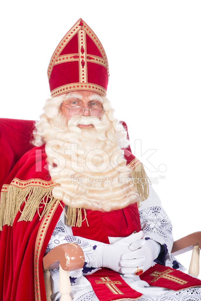 53e6491c54fd5 Sinterklaas on His Chair Stock Photos - FreeImages.com