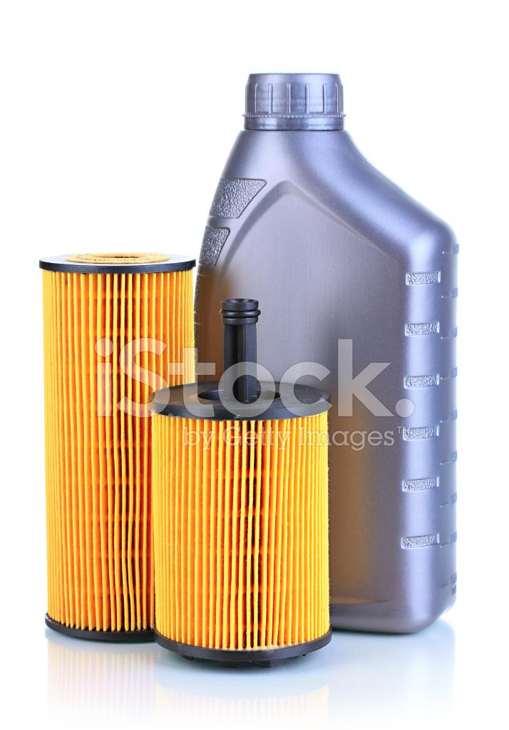 Vit olja i motorn