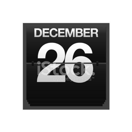 カウンターのカレンダー 12 月 2...