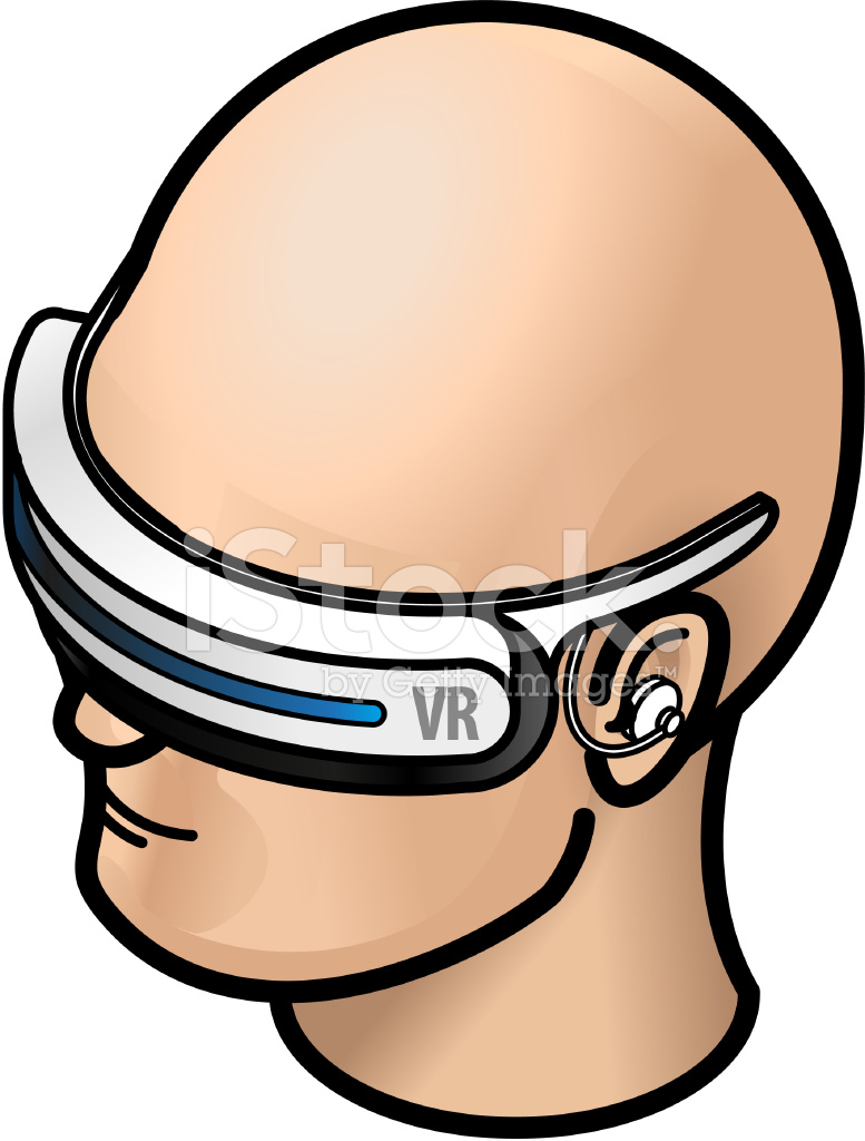 Virtual Reality Vr Goggles Stock Vector - FreeImages.com