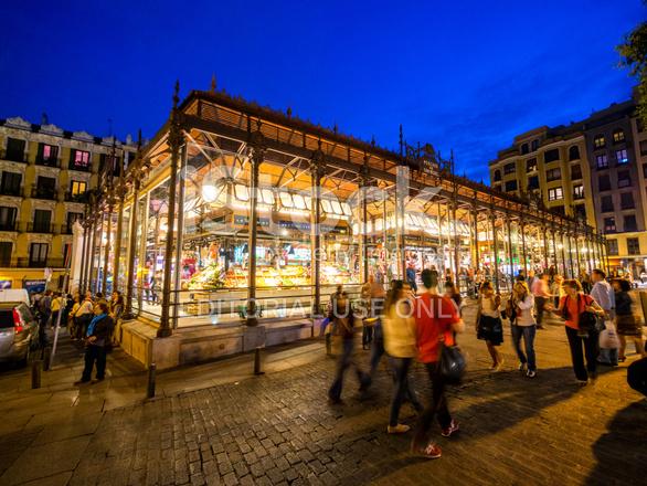 San Miguel Food Market Madrid