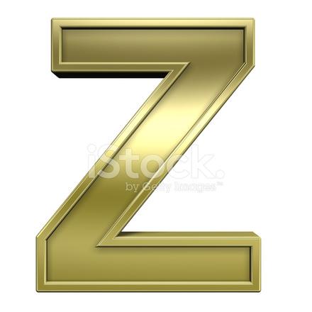 Ustaw Jedną Literą Od Błyszczące Złoto Z Ramki Alfabet Zdjęcia Ze