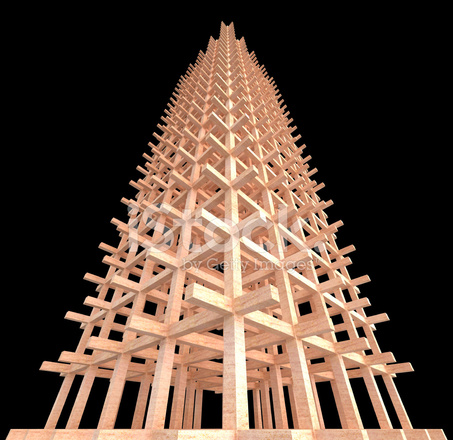 Architectural wooden engineering concept stock photos for Architectural engineering concepts