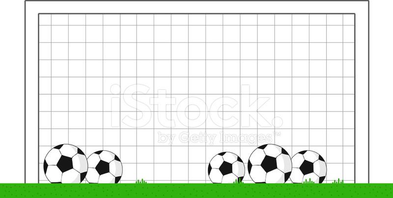 cartoon soccer goal stock vector freeimages com Funny Football Player Clip Art Funny Football Player Clip Art