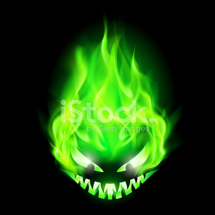 fiery monster stock vector freeimages com toxicology toxic looking