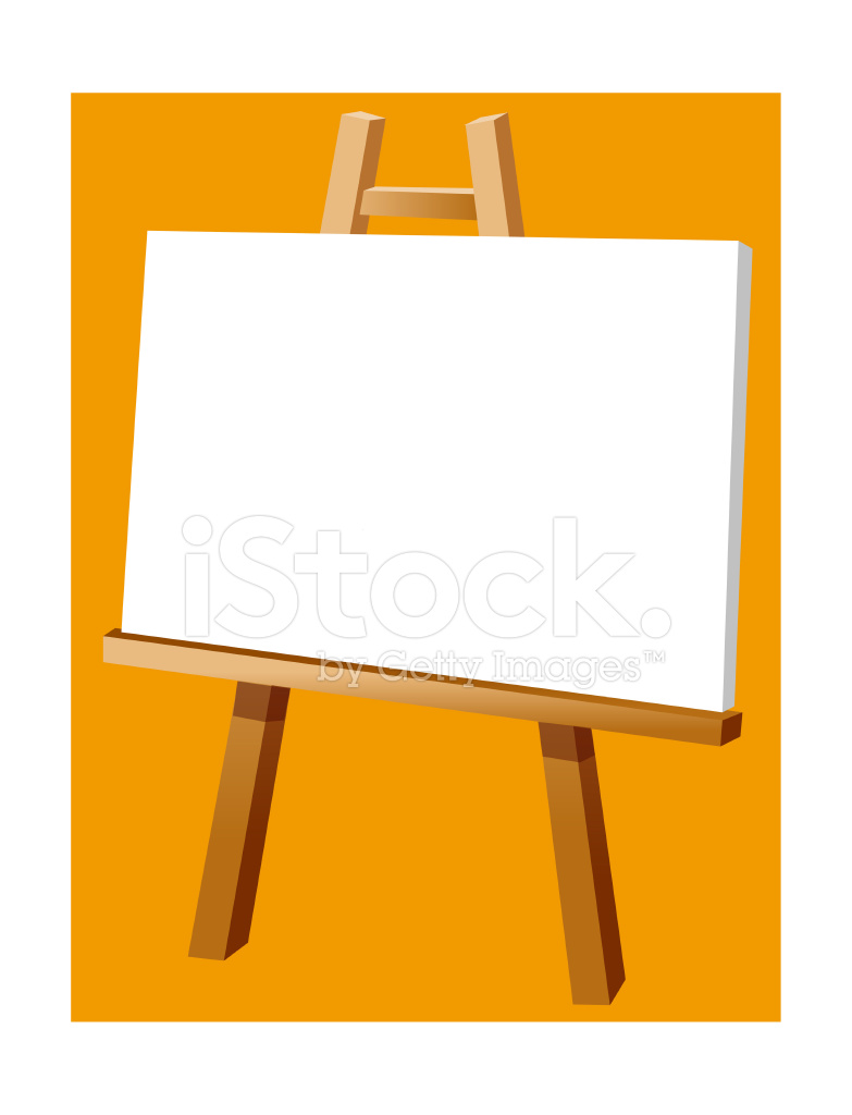 View Of An Easel Stock Vector Freeimages Com