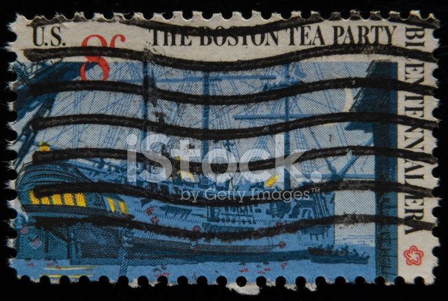Boston Tea Party US Postage Stamp