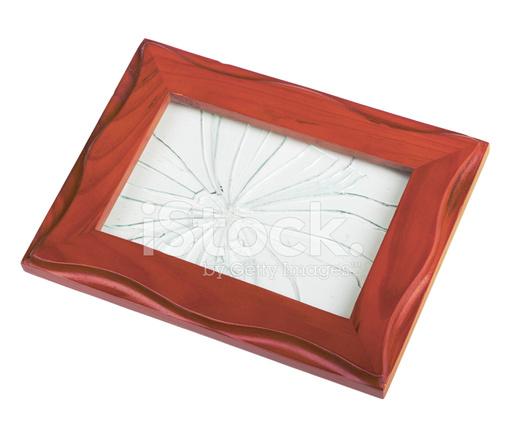 Frame With Broken Glass Stock Photos - FreeImages.com