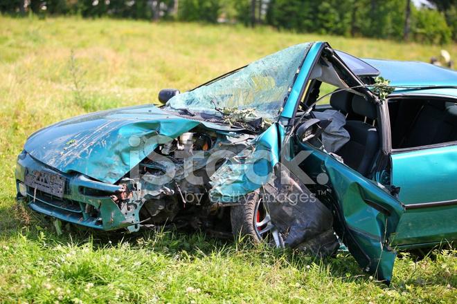 Autounfall, Versicherung Stockfotos - FreeImages.com