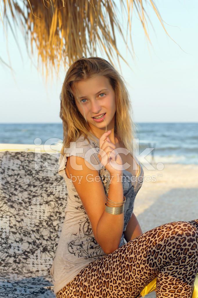 Portrait Of Nice Teenage Girl