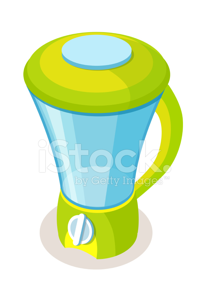Cartoon Food Processor ~ Vector icon blender stock photos freeimages