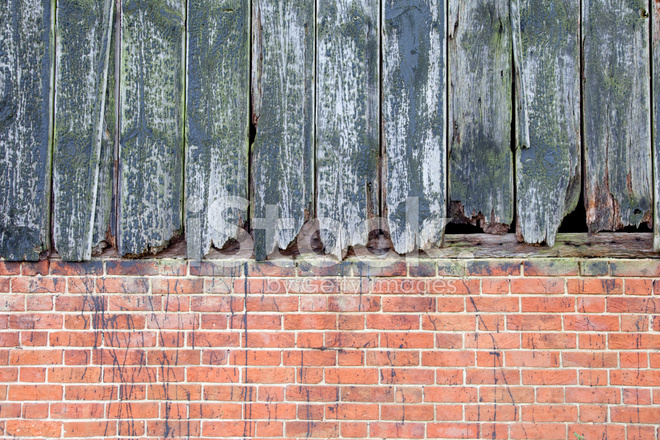 Premium Stock Photo Of Rustic Wood And Brick Background