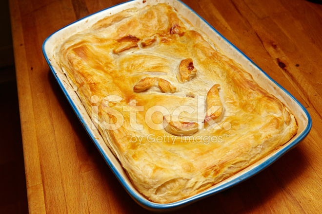Homemade Corned Beef Pie Stock Photos Freeimagescom