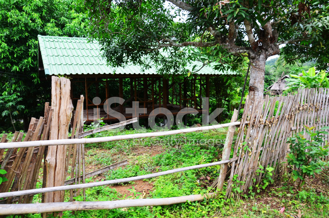 Old House Thai Style Stock Photos