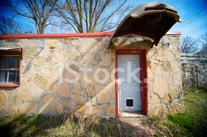 Vintage Stone House Hood Awning Stock Photos Freeimages Com