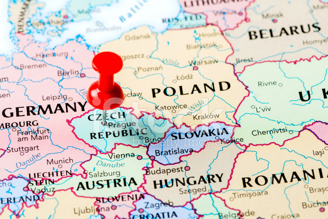 tjeckien karta Karta Tjeckien Stockfoton   FreeImages.com tjeckien karta