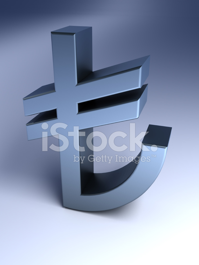Turkish Lira Sign Stock Photos Freeimages