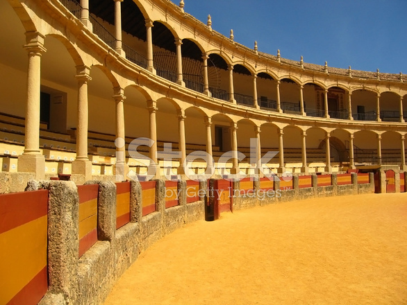 Bull Fighting Arena Ronda Stock Photos - FreeImages com