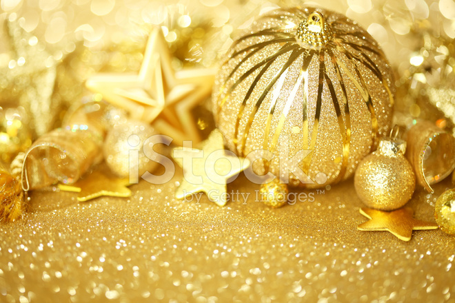 Christmas Background Images Gold.Golden Christmas Background Stock Photos Freeimages Com