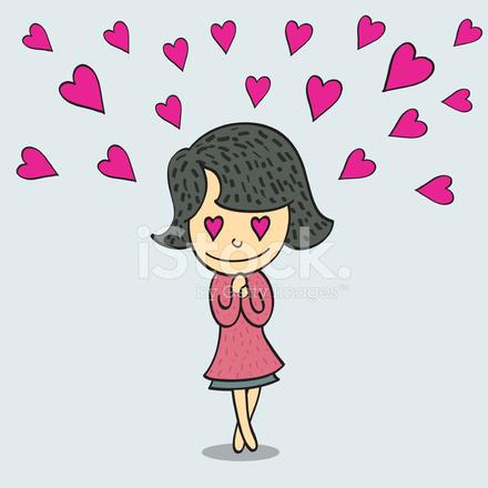 Femme Amoureuse Image Vectorielle Freeimages Com