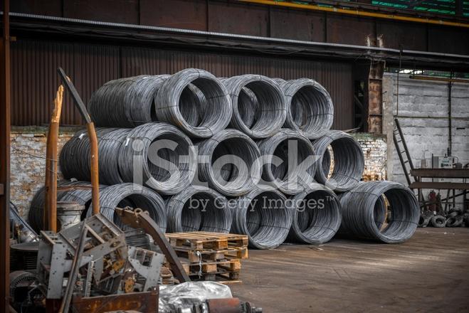 Große Spule Aus Aluminium Draht Stockfotos - FreeImages.com